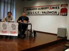 Comencen les Jornades Llibertàries de CGT-València.