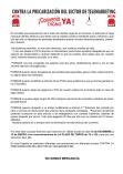 15-D Valencia: Concentración contra la precarización del sector de Telemarketing.